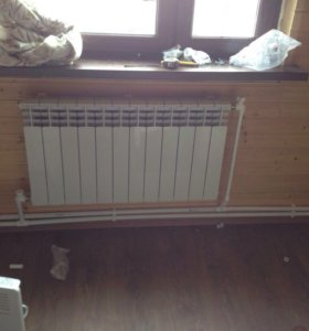 Отопление,электрика,тёплые полы,натяжные потолки
