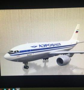 Модель самолёта Airbus А310