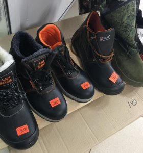 Зимняя обувь и весна