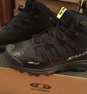 Новые зимние мужские кроссовки salomon