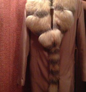 Плащ-пальто зимнее