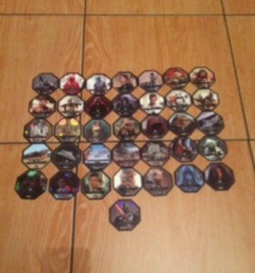 Космо жетоны, Звездные войны,  коллекционирование