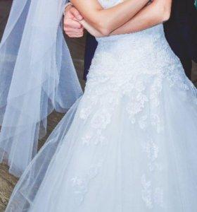 Свадебное платье Naviblue + украшения в подарок