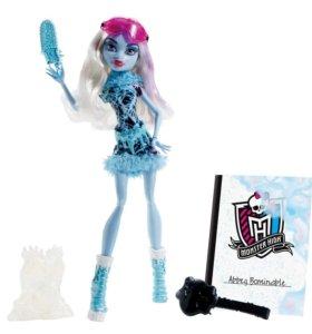Кукла Monster High Abbey Bominable НОВАЯ В КОРОБКЕ