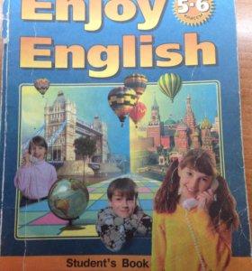Учебник английского Enjoy English 5-6 классы