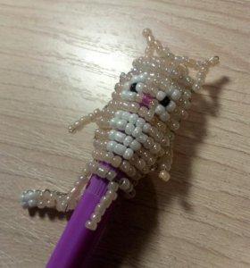 Аксессуары из бисера на ручку или карандаш