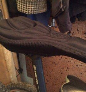 Мягкая накладка на велосипедное седло