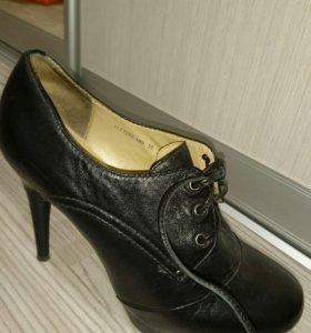 Ботинки 38 Mascotte  нат.кожа