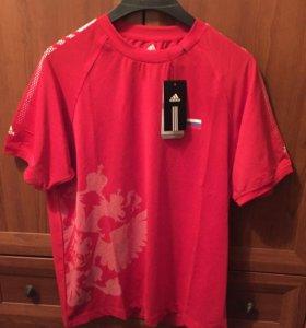 Новая футболка Адидас 48-50 размер