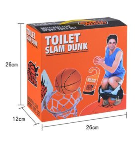 Новый Баскетбол для туалета отличный подарок