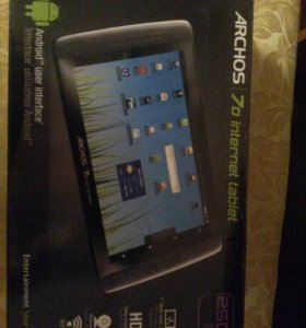 Планшет archos 7o internet tablet 250 gb