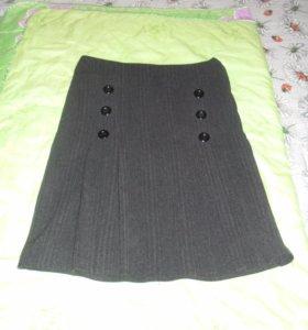 Теплая юбка р. 46