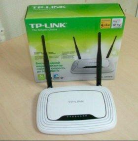 Роутер TP-LINK TL-WR841N (белый)