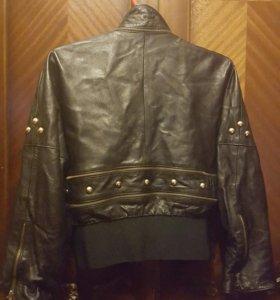Итальянская кожаная куртка женская DALLAS