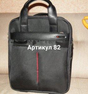 Вертикальная сумка для ноутбука.
