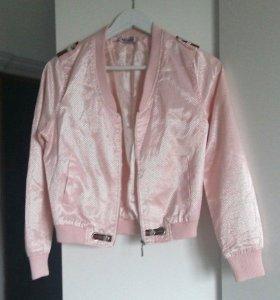 ✅Курточка розовая