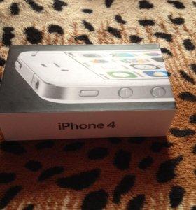 Коробка от iPhone 4/4s