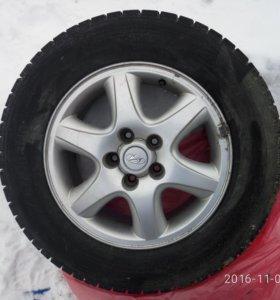 Комплект колес, зимний.