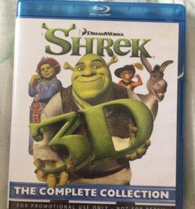 Диск шрек в 3D Blu-Ray