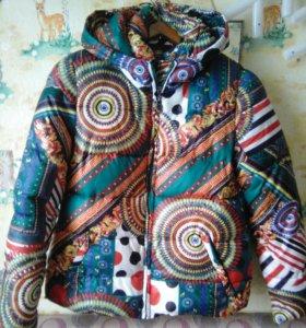 Куртка пуховая,лёгкая