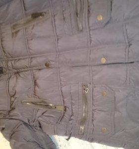 Куртка удленённая мужская