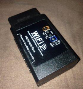Автосканер для iOS/iPhone/iPod ELM 327 Wi-Fi