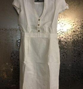 Новое льняное платье Манго