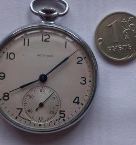 """Часы карманные """"Молния""""1961г.СССР"""