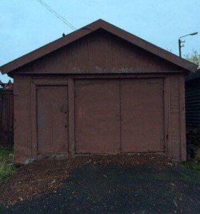 Баня и гараж