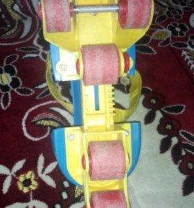Ролики детские на 5 колёсах
