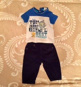 Футболка, штаны Prenatal, 68 cm