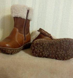 Ботинки зимние 23 р