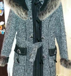 Зимнее пальто,46-48р
