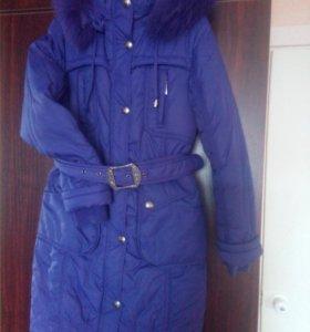 Зимнее пальто на девочку 12 лет, рост 152
