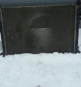 Радиатор охлождения рено логан 1.6