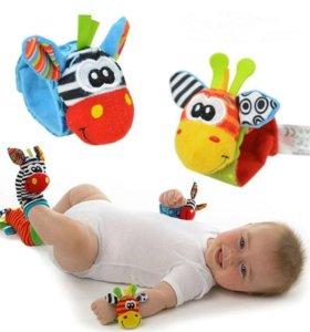 Развивающие игрушки для новорожденных