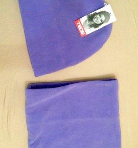 Комплект шапка м шарф