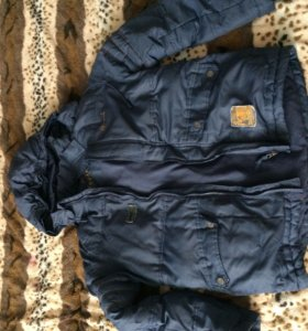 Куртка зимняя 164 рост Б/у