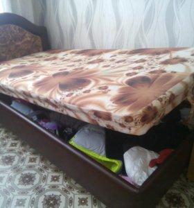 Кровать (односпальная) 1м./2м.