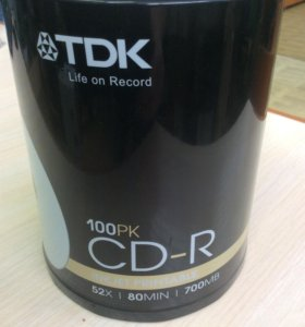 Диск CD-R Printable 700Mb 52x