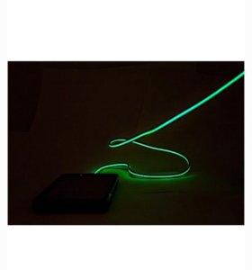 Зарядное устройство кабель с диодной индикацией