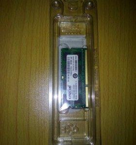 Модуль памяти для ноутбука SO-DIMMDD3, 2 гб