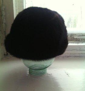 Продам норковую шапку новую