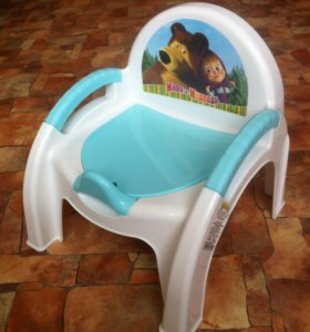 Горшок-стульчик (новый).
