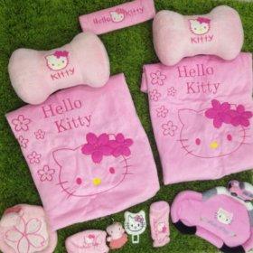 Чехлы на авто Hello Kitty