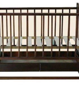 Детская кроватка (прыгунки в подарок)