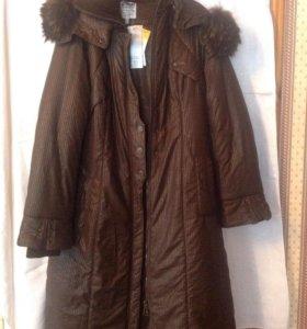 Пальто зимнее новое, размер 50-52