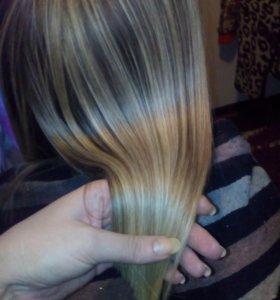 Биоламинирование,кератиновое выпрямление волос