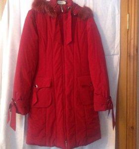 Пальто зимнее новое,размеры: 40-42,46-48