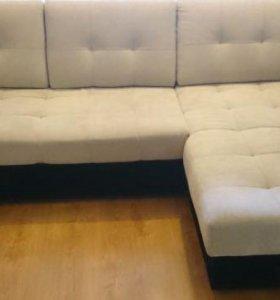 Двуспальный угловой диван